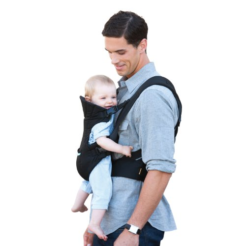 Infantino Flip Front 2 Back Carrier, Black