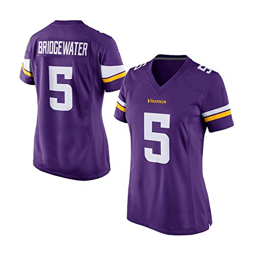 Womens Minnesota Vikings Teddy Bridgewater #5 Purple Game Jersey