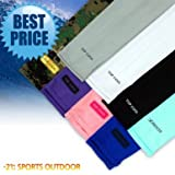3 Pairs of Sports Cooling Arm Sleeves UV Protection for Bike / Hiking / Golf / Cycling / Fishing / Golf / Driving / Jogging / Claiming and all other outside activities. Indoor sports, indoor and outdoor skin protection when working.