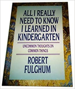 everything i need to know i learned in kindergarten pdf