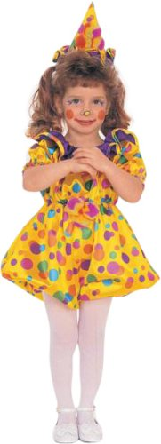 Kid's Toddler Cuddles The Clown Costume (Sz: