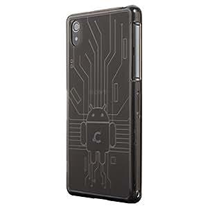 Cruzerlite USA Bugdroid Circuit Android Designer Case for Sony Xperia Z2 -Smoke
