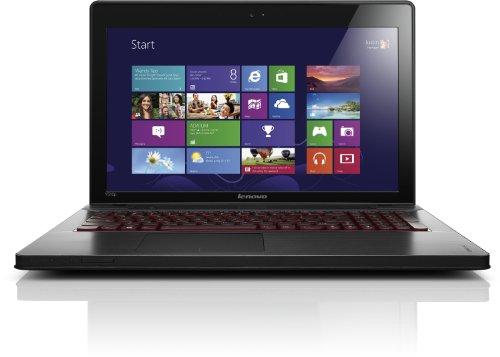 Lenovo IdeaPad Y510p 39,6 cm (15.6 FHD LED ANTI-GLARE) Notebook (Intel Core i7 4700, 16GB RAM, 256GB SSD, NVIDIA GeForce GT 755M / 2 GB,DOS) Schwarz
