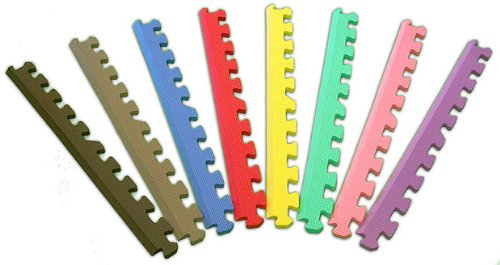 Cheap Wilton 12″ Puzzle Mat Edges in Assorted Colors (B0050C78ZI)