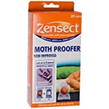 One pack of 20 Zensect Bouchard Moth Proofer Balls with a New & improved formula and a Lavender Fragrance. These moth proofer balls protect all fabrics for up to 3 months and leave no stains. Efficient & safe for all the family including and efficiency indicator to let you know when to change.