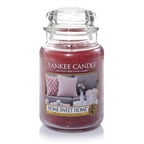 Yankee candle home sweet home large jar 22oz candle garden decor