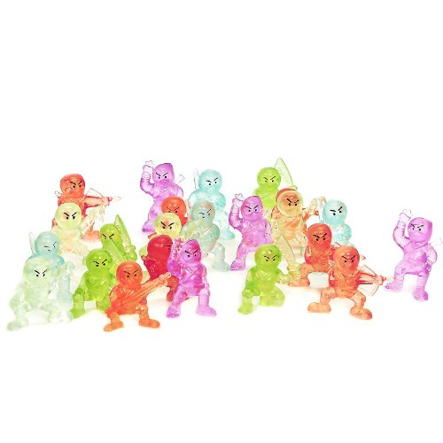 Ninja Figurines (24 count) - 1