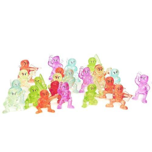 Ninja Figurines (24 count) - 1