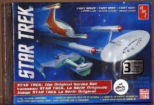1/2500 Star Trek TOS Era Ship Set, Snap Kit