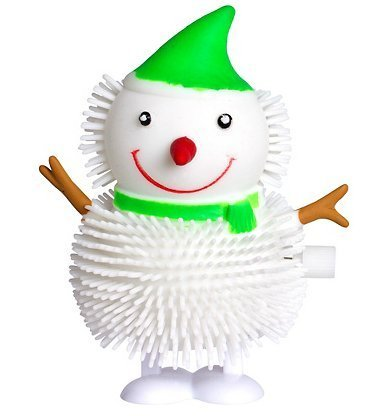 Cakesupplyshop Snowman Windup Toy 3 1/2in Tall. - 1