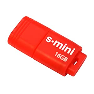 Patriot 16GB Supersonic Mini Series USB 3.0 Flash Drive (Red) With Up To 80MB/sec - PSF16GSMUSB