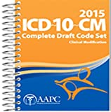 img - for 2015 ICD-10-CM Draft Code Book book / textbook / text book