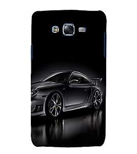printtech Superfast Car Back Case Cover for Samsung Galaxy J5 / Samsung Galaxy J5 J500F