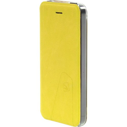 Great Sale Tucano Libretto Flip Case For IPhone 5 (Yellow)