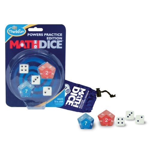 Math Dice Powers - 1