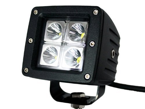 2X Dually Cube 16W Cree Led Spot Fog Driving Trail Light For Off Road Bar Jeep Truck