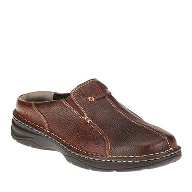 Amazon.com Drew Shoe Menu0026#39;s Gabriel Slip-On Clog Clogs And Mules Shoes Shoes