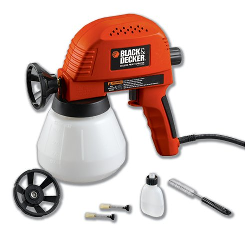 How To Use Black And Decker Paint Sprayer