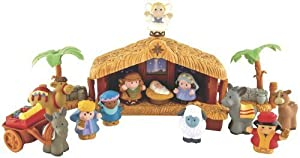 Fisher Price Little People Christmas Story by Fisher-Price
