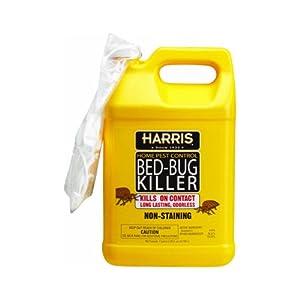 Amazon.com : Harris Bed Bug Killer 1 Gallon : Bedbug Spray
