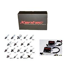 XENTEC Standard HID Kit 9005 3000K (HB3/9055/H12, Golden Yellow) offroad