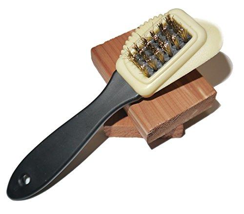 Shoeslulu Intensive Care Suede & Nubuck 4 Ways Leather Brush Cleaner (1 Pack, Intensive Care) (Suede Cleaner Brush compare prices)