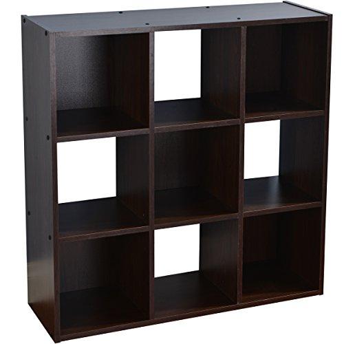 Vccucine Multipurpose Shelves Bookcase Storage Units 9