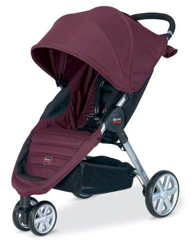 Britax B-Agile Stroller, Plum front-742521