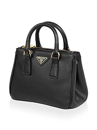 Prada Galleria Saffiano Leather Satchel, Black from MyHabit - Styhunt