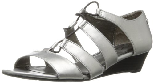 Lifestride Women'S Yolder Gladiator Sandal,Pewter,7.5 M Us front-919694