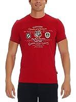 GALVANNI Camiseta Manga Corta Quew (Rojo)