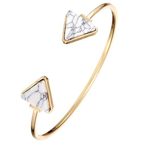 fulltimer-retro-ouvert-bangle-triangle-marbre-turquoise-cuff-bracelet-bijoux-blanc