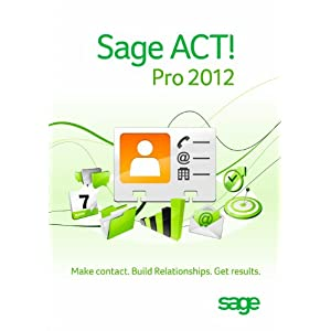 Sage Software ACT Pro 2012
