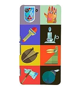 EPICCASE essentials Mobile Back Case Cover For Sony Xperia M5 (Designer Case)