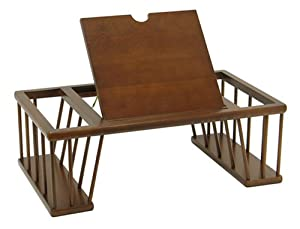 Bed Desk / Tray Antique Walnut Finish