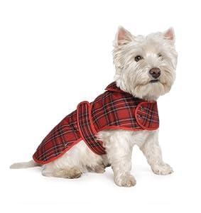 Ancol Highland Tartan Dog Coat, S