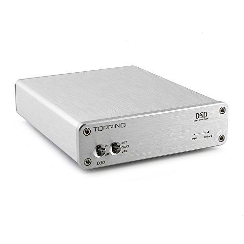 Topping D30 ハイレゾ対応DAC usb+光軸+同軸 爆音問題が解決 XMOS非同期インタフェース
