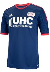 New England Revolution Adidas MLS Performance Replica Jersey - Navy by adidas
