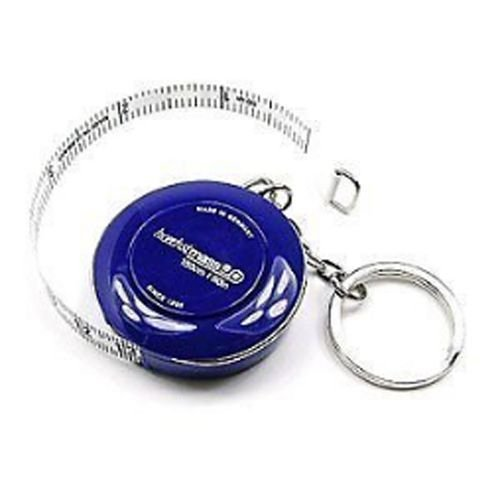 Fun Portable Hoechstmass Roller Tape Measures Navy With Key Ring! 150cm 60in sanrenmu sk009d lucky number 9 carabiner with key ring