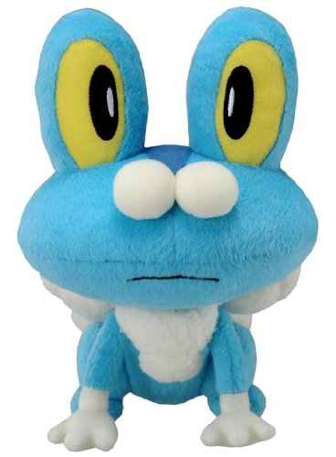 Takaratomy New Pokemon N-04 X and Y Froakie/Keromatsu 9' Plush Doll
