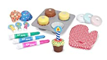 Melissa Doug Bake and Decorate Cupcake Set