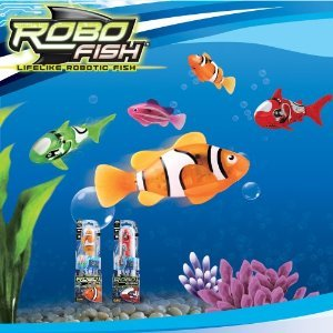 Robo Fish - Assorted Designs, one supplied