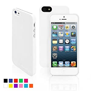 Snugg iPhone 5 / 5S Case - Ultra Thin Case with Lifetime Guarantee (White) for Apple iPhone 5 / 5S