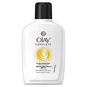 Olay Complete All Day Moisturizer with Broad Spectrum SPF 15 Sensitive, 6.0 fl oz each, 2 count