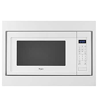 Kitchenaid 27 trim kit for countertop microwaves white appliances - Kitchenaid microwave with trim kit ...