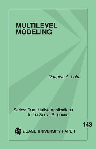 Multilevel Modeling (Quantitative Applications in the Social Sciences) (Hierarchical Linear Models compare prices)