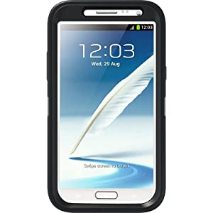 OtterBox Defender Series Case and Holster for Samsung Galaxy Note 2 - Black