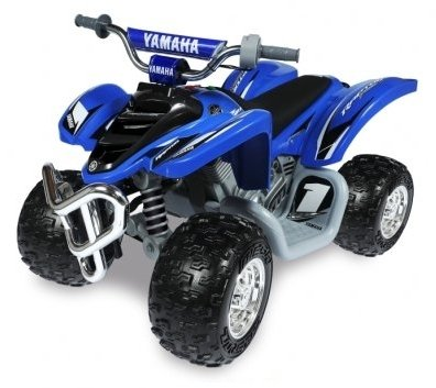 Yamaha Raptor ATV 12-Volt Battery-Powered Ride-On (Blue)