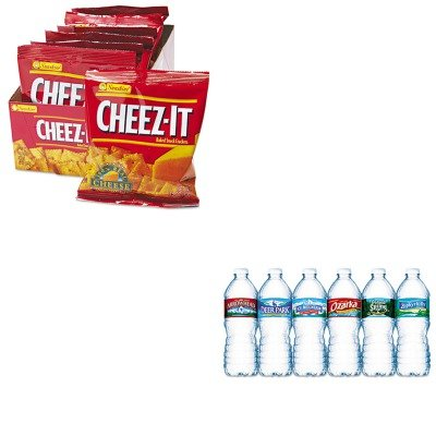 kitkeb12233nle101243-value-kit-kelloggs-cheez-it-crackers-keb12233-and-nestle-bottled-spring-water-n