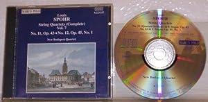 Spohr:String Quintets Vol.1